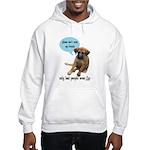 Please Don't Wear My Friends Hooded Sweatshirt