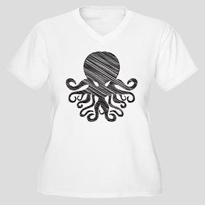 CTHULHU Women's Plus Size V-Neck T-Shirt