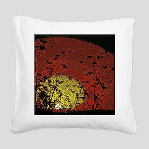Australian Sun Square Canvas Pillow