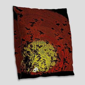 Australian Sun Burlap Throw Pillow