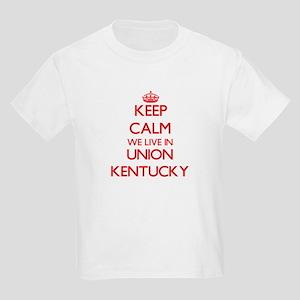 Keep calm we live in Union Kentucky T-Shirt
