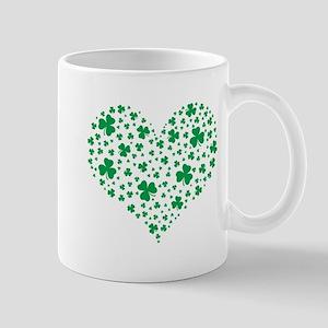 Shamrock Hearts Mugs