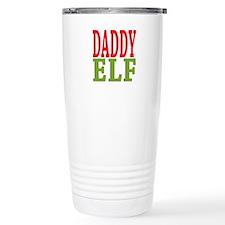 Daddy Elf 16 oz Stainless Steel Travel Mug