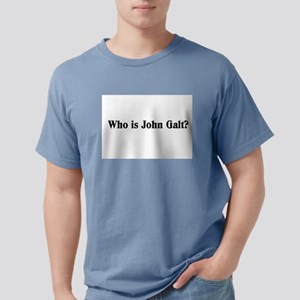 Who is John Galt? Ash Grey T-Shirt