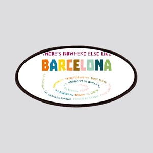 There's nowhere else like Barcelona Patches