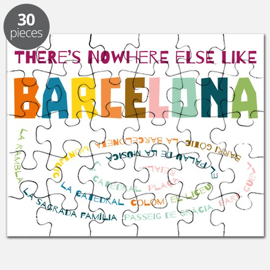 There's nowhere else like Barcelona Puzzle