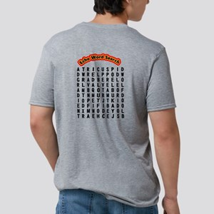 Back Only- Echocardiogram W Mens Tri-blend T-Shirt