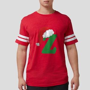 Christmas Letter Z Alphabe T-Shirt