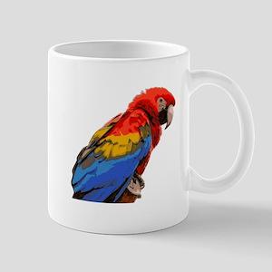 Scarlet macaw Mugs