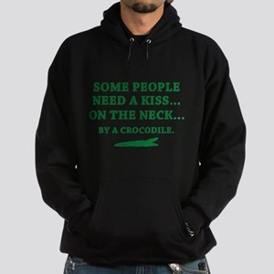 Some People Need A Kiss Hoodie (dark)