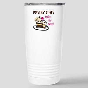 PASTRY CHEFS MAKE LIFE SWEET Travel Mug