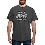What Minions Mens Comfort Colors® Shirt
