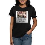 Rest of Your Fur Coat Women's Dark T-Shirt