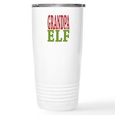 Grandpa Elf 16 oz Stainless Steel Travel Mug
