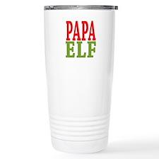 Papa Elf 16 oz Stainless Steel Travel Mug