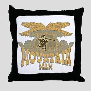 mountain man collectibles Throw Pillow