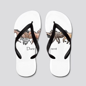 dare to be different Flip Flops