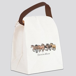 dare to be different Canvas Lunch Bag