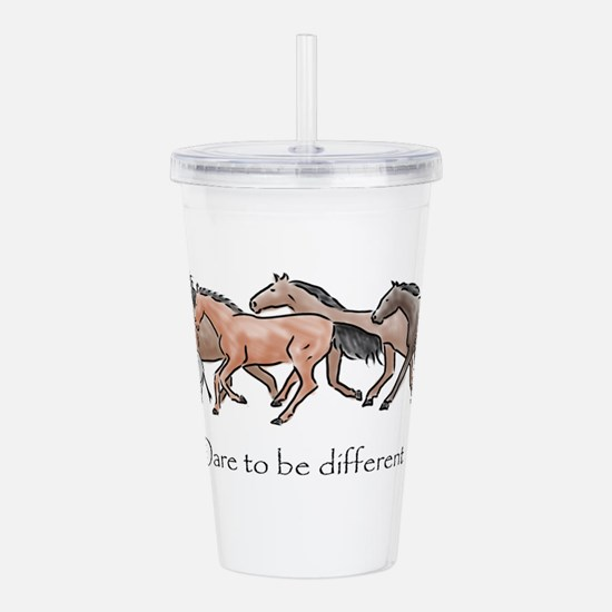 dare to be different Acrylic Double-wall Tumbler