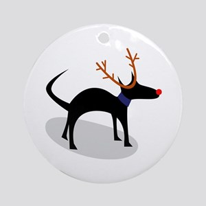 Edgar Xmas Ornament (Round)