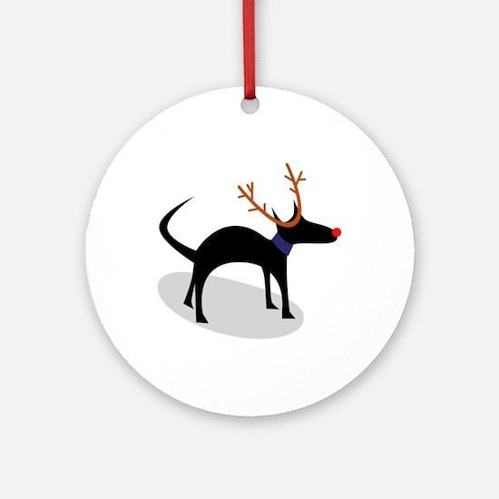 Edgar Xmas Ornament (Round)