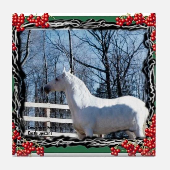 Holiday Tile Coaster