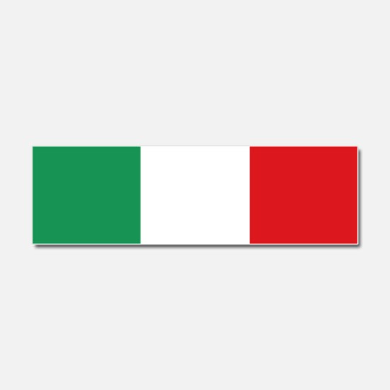 Flag of Italy Car Magnet 10 x 3