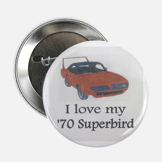 '70 Superbird Button