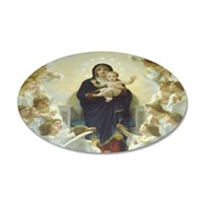 Mother Mary Wall Decal