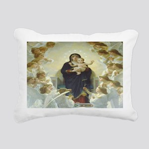Mother Mary Rectangular Canvas Pillow