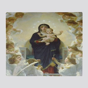 Mother Mary Throw Blanket