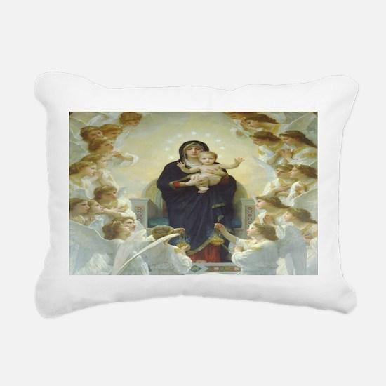 Mother Mary Rectangular Canvas Pillow