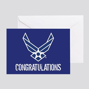 USAF: Congratulations Greeting Cards