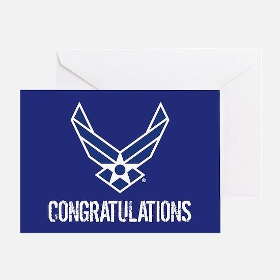 USAF: Congratulations Greeting Cards