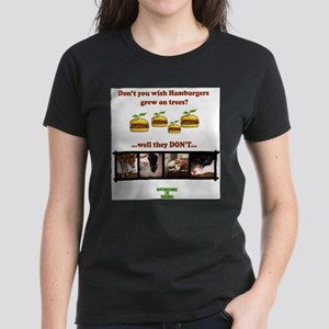 Don't you wish hamburgers gre Women's Pink T-Shirt