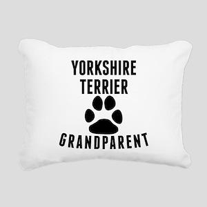 Yorkshire Terrier Grandparent Rectangular Canvas P