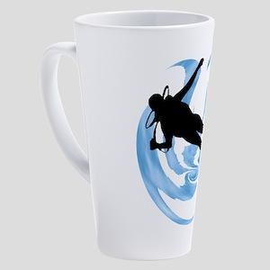 SCUBA MADE 17 oz Latte Mug