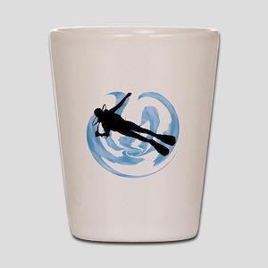 SCUBA MADE Shot Glass