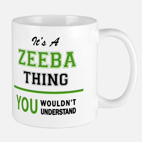 Cute Zeeba Mug