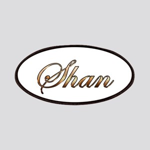 Gold Shan Patches