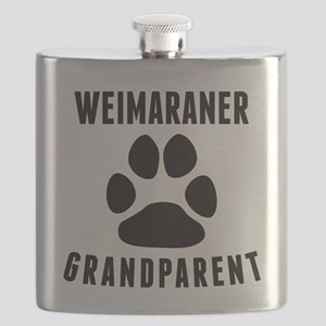 Weimaraner Grandparent Flask