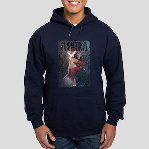 Elektra Rain Hoodie (dark)