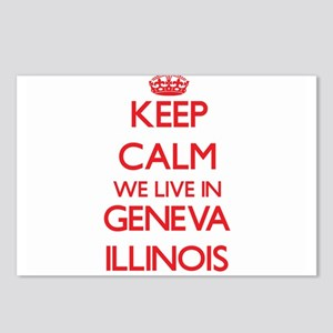 Keep calm we live in Gene Postcards (Package of 8)