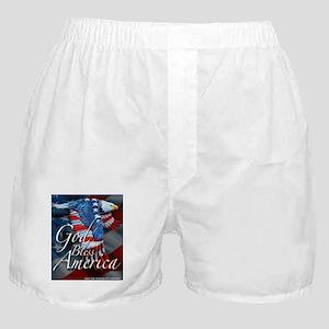 God Bless Boxer Shorts