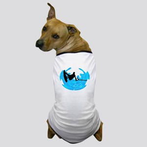 WAKEBOARD TIME Dog T-Shirt