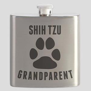 Shih Tzu Grandparent Flask