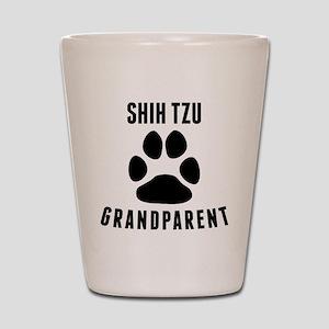 Shih Tzu Grandparent Shot Glass