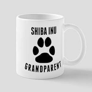 Shiba Inu Grandparent Mugs