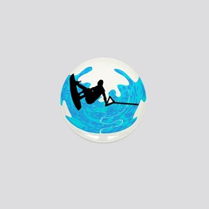 WAKEBOARD TIME Mini Button