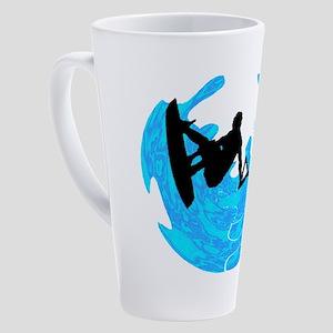 WAKEBOARD TIME 17 oz Latte Mug